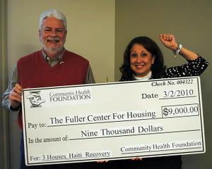 Georgia's Community Health Foundation raises $9,000 for Haiti