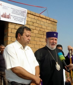 Supreme Patriarch of Armenian Church blesses Fuller Center project