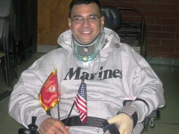 Community unites to make family house of injured Marine wheelchair accessible