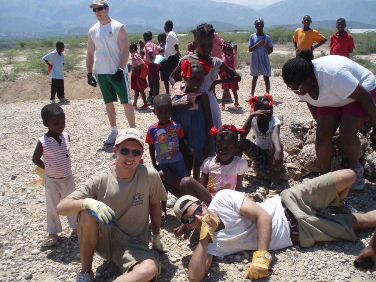 Serving in Haiti