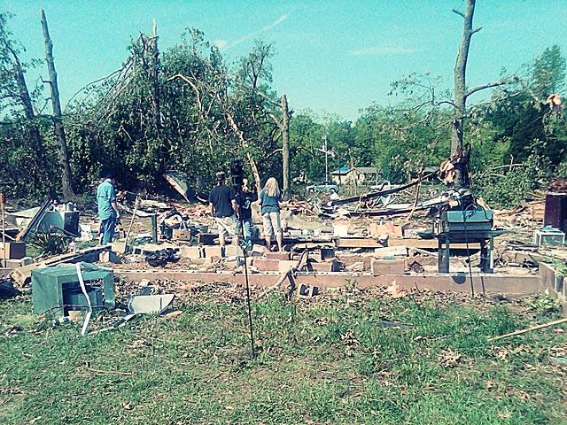 Tornado-ravaged home targeted for rebuilding this weekend