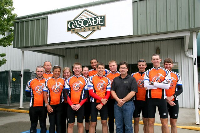Let's hope our bike team avoids pop tops in Idaho
