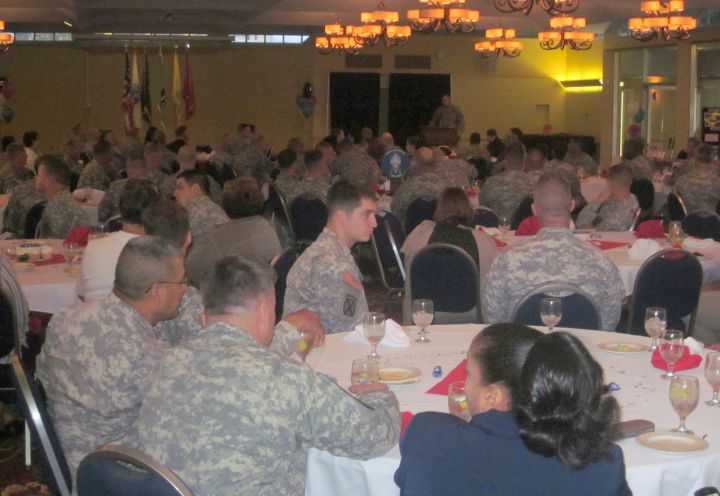 Pitching the Fuller Center at Fort Benning