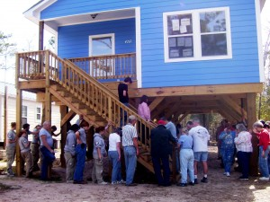 Disaster ReBuilders dedicates first home as a Fuller Center mission partner