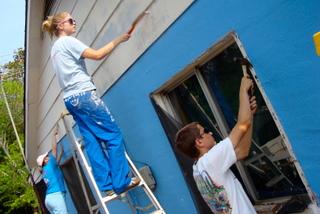 Bossier City students volunteer at Koinonia