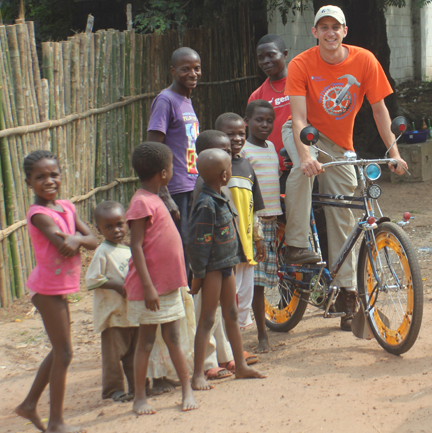 Pedaling an article by our Bicycle Adventure founder