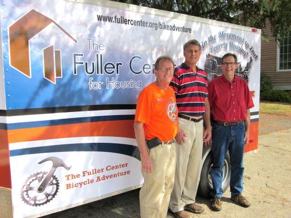 New Horizons Habitat helps Fuller Center replace Bike Adventure team's trailer