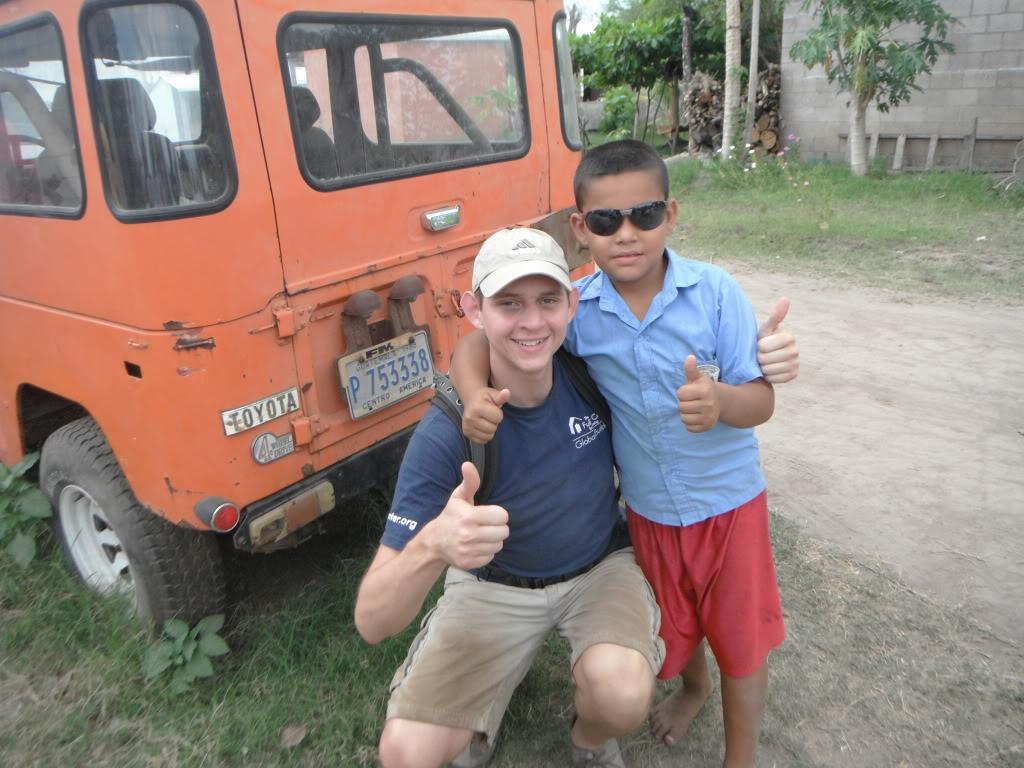 Helping families in El Salvador
