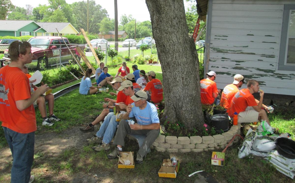 Day 16: Shreveport Build Day